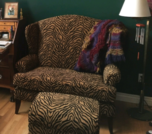 Tiger Stripe Den Chair