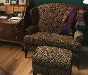 Tiger Chair and a half