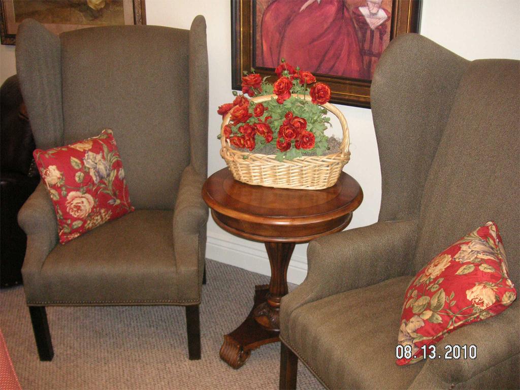 Twin Wingback Chairs