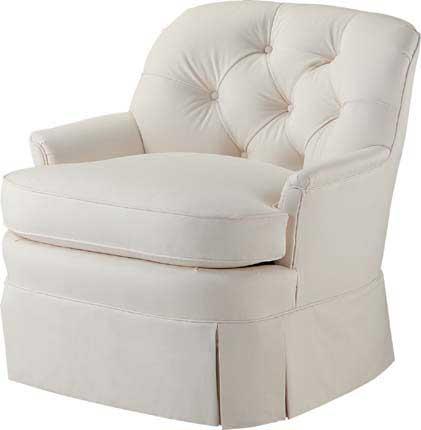 Tufted Back Barrel Chair
