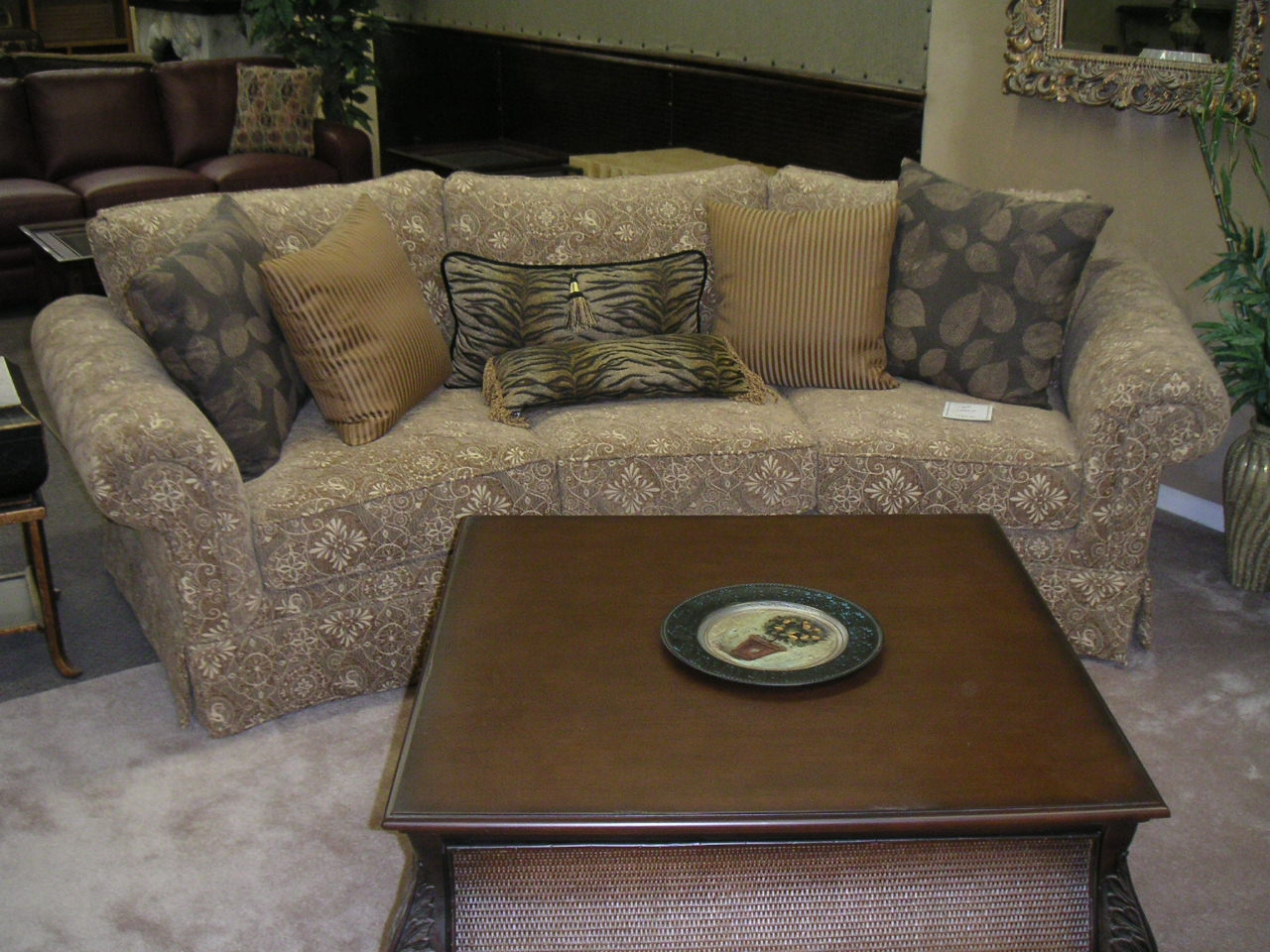 Cataline Angled Rolled Arm Sofa