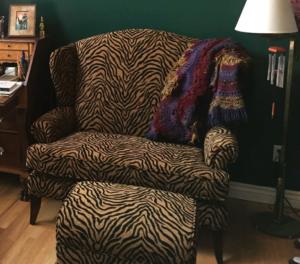 Tiger Stripe Den Chair